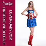 Halloween-Superheld-Partei-Kostüm-Fabrik (L15341)