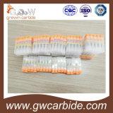 平たい箱または球の鼻または球またはアルミニウムのための炭化タングステンの端製造所