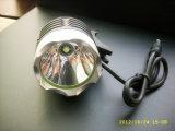 Indicatore luminoso luminoso eccellente della bicicletta del LED ricaricabile con gomma