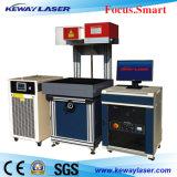 sistema della marcatura del laser del tessuto del denim di ampia area di 600X600mm