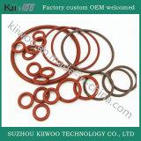 Anéis-O de borracha lisos moldados do silicone