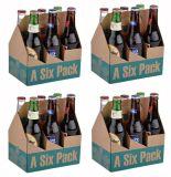 A cerveja encaixota caixas do pacote da cerveja