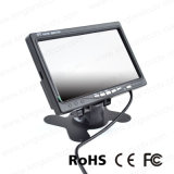 7 polegadas - monitor elevado da câmera de opinião traseira do carro do LCD da cor da definição TFT