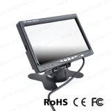 7 дюймов - высокий монитор телевизионной камеры вид сзади разрешения TFT LCD