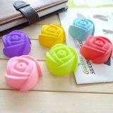 Rose сформировал цветок прессформы торта силикона 7cm