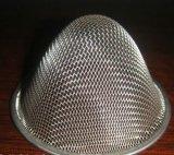 Engranzamento de fio do aço inoxidável do CE e do GV 304/316/316L (ducth liso tecido)