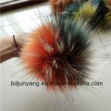 Exquisitely Gemaakte Ballen van het Bont van de Wasbeer Faux
