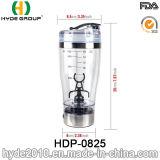 бутылка трасучки горячего популярного пластичного протеина гимнастики 450ml электрическая, пластичная бутылка трасучки протеина вортекса (HDP-0825)