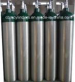 Cga540 유형 알루미늄 산소 실린더 4.6L (저 크기)