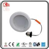 Energie Star& ETL anerkanntes Dimmable LED beleuchtet unten