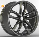 車の合金の車輪はAudiのためのハイパー銀17X7.5 18X8.0に縁を付ける