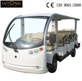 Un veicolo facente un giro turistico elettrico delle 14 sedi