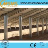 Панели солнечных батарей установленные землей для дома