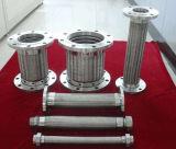 Soufflets tressés hydrauliques du métal Ss304 flexible d'acier inoxydable