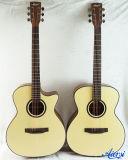 China Aiersi Venta caliente acústica estudiante guitarra de cuerda de acero Sg01sm-40