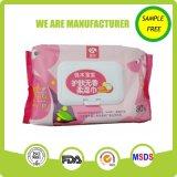 Fábrica de Tejidos de China Libre de Alcohol Aloe bebé