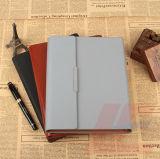 Тетрадь PU бумаги заполнителя перемещения A5 кожаный с креном силы