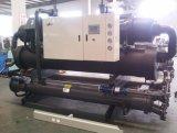 Refrigerador de refrigeração água do parafuso para o processamento concreto