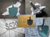 Железнодорожная стальная золотистая лопата S507-3 лопаткоулавливателя цвета