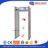 LED Alarm를 가진 다중 지역 Walk Through Metal Detector Model AT-300C