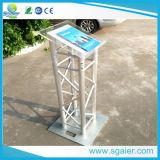 Truss en aluminium Lectern Standards Speech Lectern Can soit Triangle Square ou Ladder Truss