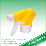 28/400 de pulverizador magnífico amarelo do disparador da qualidade dos PP para o líquido