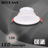 12W 5 luz del proyector LED de la pulgada LED Downlight con la luz de techo integrada del programa piloto LED de Ce&RoHS