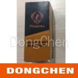 Hochwertiges preiswertes kundenspezifisches buntes Hologramm, das pharmazeutischen Kasten der Phiole-10ml verpackt