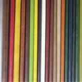 Couro artificial Crumped da cera do petróleo do teste padrão para a matéria têxtil Home (498#)