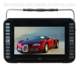 9 duim USB BR Player Portable DVD met TV isdb-t