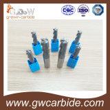 Fraise en bout de carbure de tungstène pour le nez de plat/bille/bille/aluminium