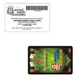 Cartão irregular feito sob encomenda do presente para a promoção do negócio