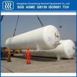 El CO2 líquido de presión del tanque de almacenamiento del tanque criogénico