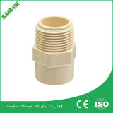 Plastik-CPVC Rohrfittings - Messing verlegter weiblicher Adapter