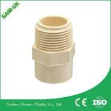 Garnitures de pipe en plastique de CPVC - adaptateur femelle fileté par laiton