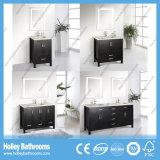 Мебель ванной комнаты твердой древесины американской конструкции превосходная классицистическая (BV121W)