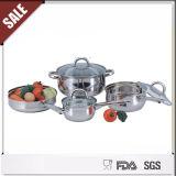 Positionnement chaud de vaisselle de cuisine d'acier inoxydable de vente