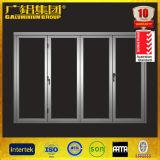 Doblez de cristal Windows del marco de aluminio de 70 series y puertas BI-Plegables China