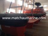 L'amortisseur gonflable semi rigide d'approbation de SOLAS jeûnent bateau de sauvetage
