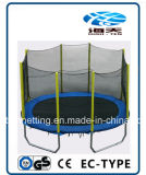 Safety Netの10ftx15ft Oval Trampoline
