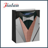 박판으로 만들어진 매트는 남자를 위한 싼 로고 종이 쇼핑 백을 주문을 받아서 만든다