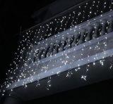 Indicatore luminoso della tenda di natale LED del cavo del PVC