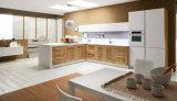 合板のヨーロッパの現代食器棚(PR-K2018)