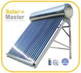 Calefatores de água quente solares de alta pressão compatos