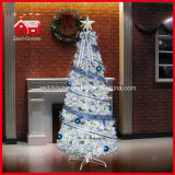 LED Flashing Holiday Gift Christmas Tree con Decorations variopinto