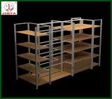 De commerciële Plank van de Vertoning van het Gebruik Houten Tweezijdige (jt-A30)