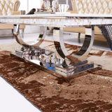 2017 de Nieuwste Moderne Marmeren Koffietafel van het Frame van het Roestvrij staal van het Ontwerp