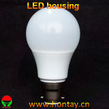 A60/A19 LED Plastikgehäuse für 9 Watt