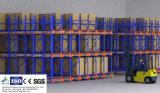 Racking de rádio automático da pálete da canela para o armazenamento do armazém com alta qualidade