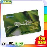 HUAYUAN RFID MIFARE 고전적인 1K NFC 금속 멤버쉽 명함